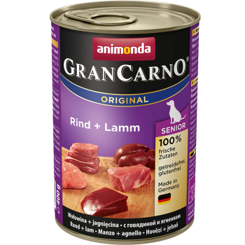 Grancarno Senior Dog Vita si Miel 400 grame imagine