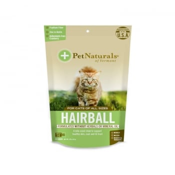 Supliment Pisici Pet Naturals Hairball, 30 tablete