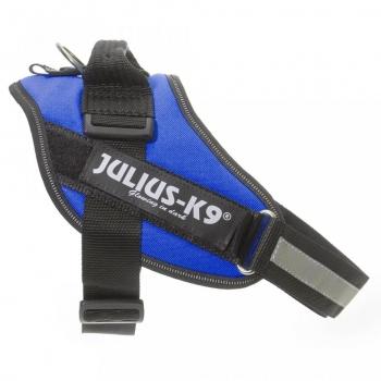 Ham Julius K9, IDC POWER, marimea 0, 14-25 kg, Albastru imagine