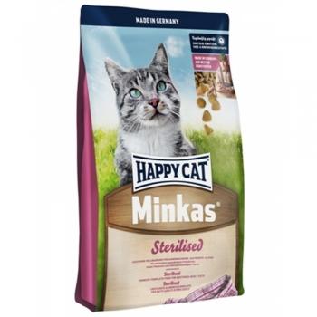 Happy Cat Minkas Sterilised,10 kg imagine