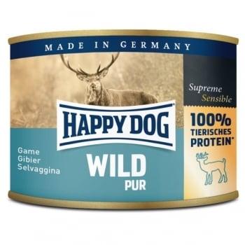 Happy Dog Conserva cu Vanat, 200 g imagine