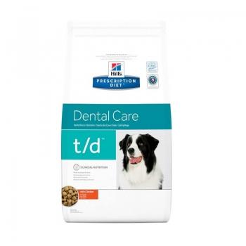 Hill's PD Canine t/d, Boli Stomatologice, 3 kg