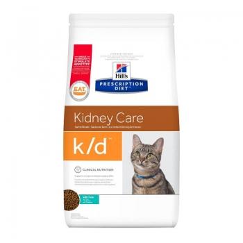 Hill's PD Feline k/d Afectiuni Renale cu Ton, 1.5 kg