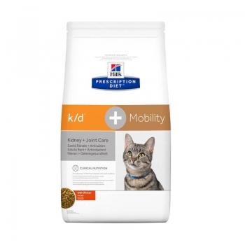 Hill's PD Feline k/d Afectiuni Renale + Mobility, 2 kg imagine