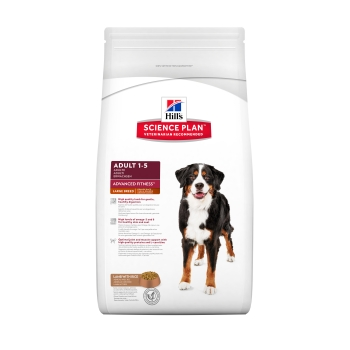 Hill's SP Canine Advanced Fitness Large Breed Adult, Miel si Orez, 12 kg