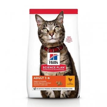 Hill's SP Feline Adult Pui, 3 Kg imagine