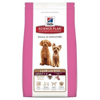 Hill's SP Canine Adult Small&Miniature Miel si Orez, 300 g