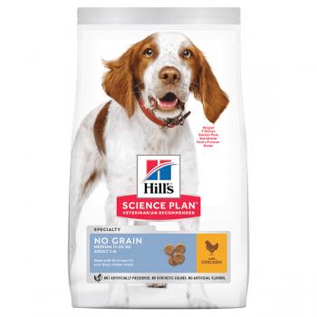 Hill's SP Canine Adult No Grain Medium Pui, 14 Kg imagine