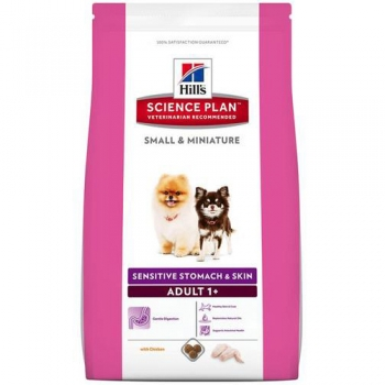 HILL'S SP CANINE ADULT SMALL & MINIATURE SENSITIVE STOMACH & SKIN 300 G