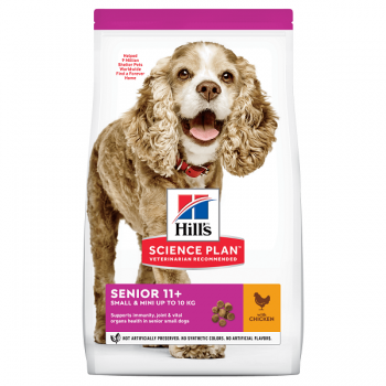 Hill's SP Canine Senior Small & Miniature Pui, 1.5 Kg imagine