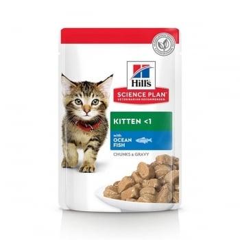 Hill's SP Feline Kitten Plic Ocean Fish 85 g