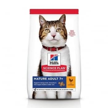 Hill's SP Feline Mature Pui, 1.5 Kg imagine