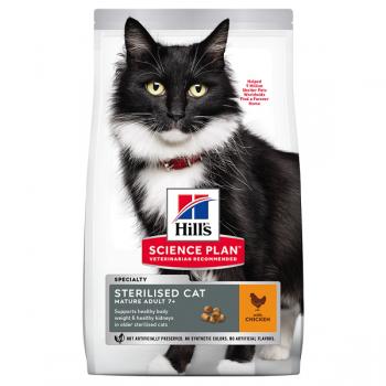 Hill's SP Feline Mature Sterilised Pui, 3 Kg imagine