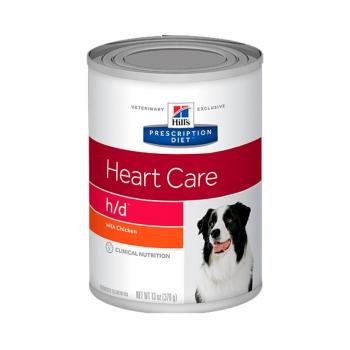 Hill's PD Canine h/d cu Pui, Conserva 370 g