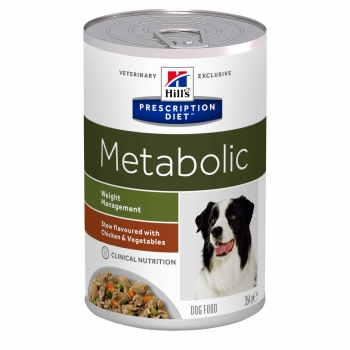 Hill's PD Canine Metabolic Chicken&Veggie Stew 354 g