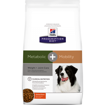 HILL'S PD CANINE METABOLIC + MOBILITY CU PUI, 12 KG