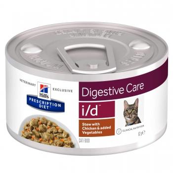 Hill's PD Feline I/D Chicken & Veggie Stew, 82 g