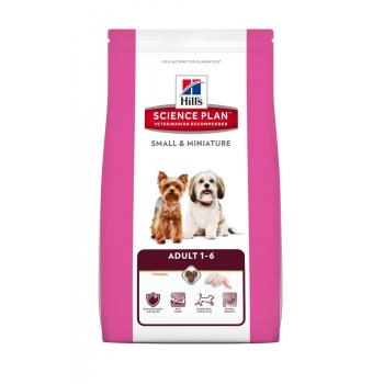 HILL'S SP Canine Adult Small & Miniature cu Pui si Curcan 6,5 kg