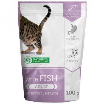 Hrana Umeda Natures Protection Cat Intestinal Health Peste, 100 g