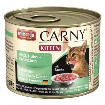 Carny Kitten Vita, Pui si Iepure 200 g imagine