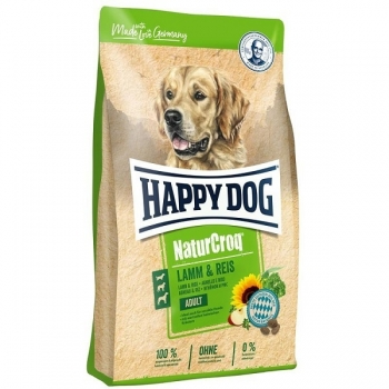Happy Dog Natur Croq Miel si Orez, 4 kg