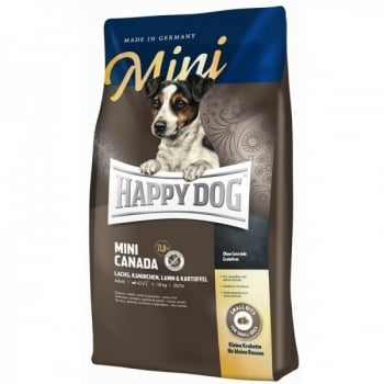 Happy Dog Supreme Mini Canada Grain Free, 4 kg imagine