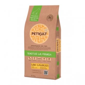 Petkult Sensitive Low Calories cu Miel si Orez, 12 kg