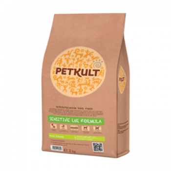 Petkult Sensitive Mini Junior cu Miel si Orez, 2 kg imagine