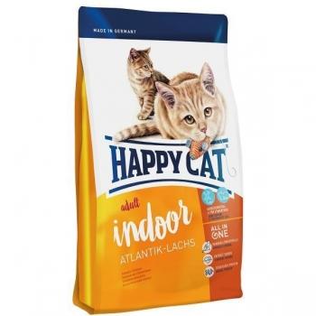 Happy Cat Adult Indoor, Somon de Atlantic, 10 kg imagine