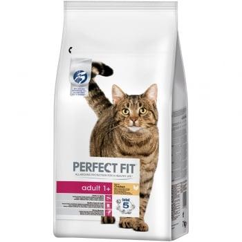 Pachet 2 x Perfect Fit Cat Adult cu Pui, 7 kg imagine