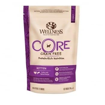 Hrana Uscata Wellness Core Kitten Dry Curcan si Somon, 300 g