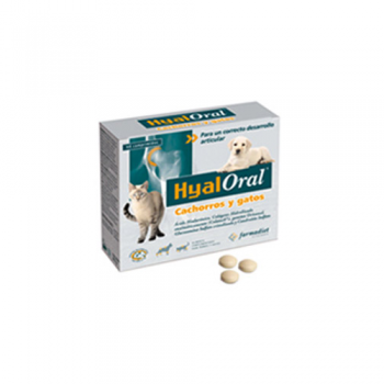 Supliment Nutritiv Hyaloral Puppy & Cat 60 tablete