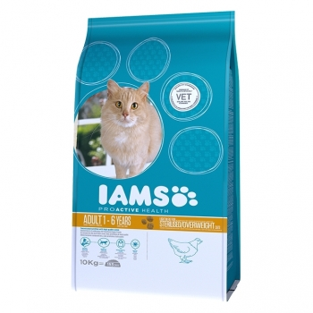 Iams Adult Cat Light Sterilised & Overweight, 2.550 Kg