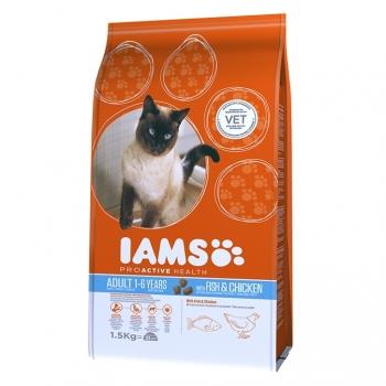 Iams Adult Cat Peste Oceanic si Pui, 3 kg