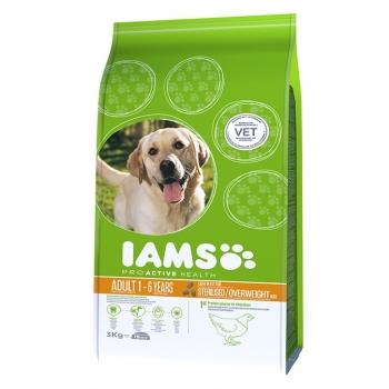 Iams Dog Sterilised cu Pui, 3 kg