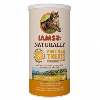 IAMS Naturaly Cat Freeze Dried Pui, 25 g