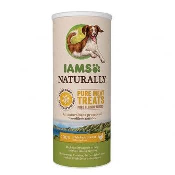IAMS Naturaly Dog Freeze Dried Pui, 50 g imagine