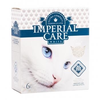 IMPERIAL CARE White, pachet economic asternut igienic bentonita pisici, iasomie, 6L x 2