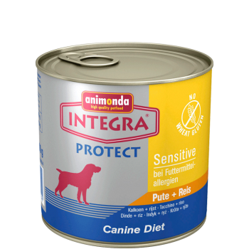 Pachet 4 buc Integra Protect Sensitive Curcan si Orez 600 g