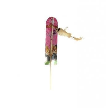 Jucarie Paiatze Cat Undita cu Peste, 40 cm imagine