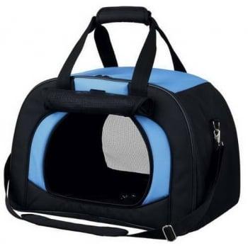 Geanta Transport Trixie Kilian, 31x32x48 cm, 6 kg, Negru/Albastru