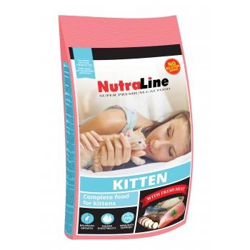 Nutraline Cat Kitten 1.5 Kg imagine