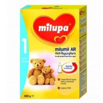 Lapte Praf Milupa Milumil Formula Pentru Regurgitare de la Nastere, 300 g
