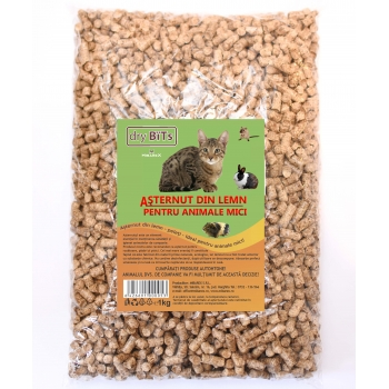 Asternut din lemn Dry Bits, 1 kg