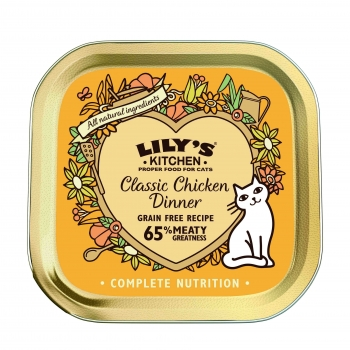 Lily's Kitchen Pisica Adult Classic Dinner Pui, 85 g imagine