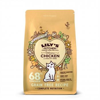 Lily's Kitchen Pisica Adult Delicious cu Pui, 2 kg imagine