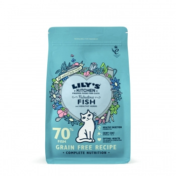 Lily's Kitchen Pisica Adult Fabulous cu Peste, 800 g imagine