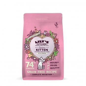 Lily's Kitchen Pisica Junior cu Pui, 800 g