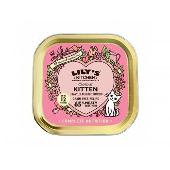 Lily's Kitchen Pisica Junior Pui, 85 g imagine