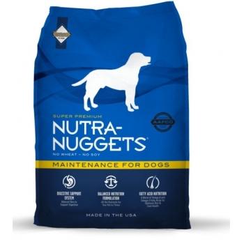 Nutra Nuggets Maintenance Formula cu Pui 15kg + 3kg gratis
